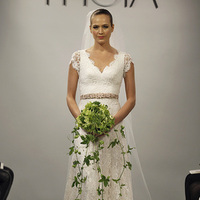 Wedding Dresses, Lace Wedding Dresses, Romantic Wedding Dresses, Fashion, Spring Weddings, Garden Weddings, V-neck Wedding Dresses, Theia