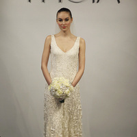 Wedding Dresses, Romantic Wedding Dresses, Fashion, pink, Spring Weddings, Garden Weddings, V-neck Wedding Dresses, Theia