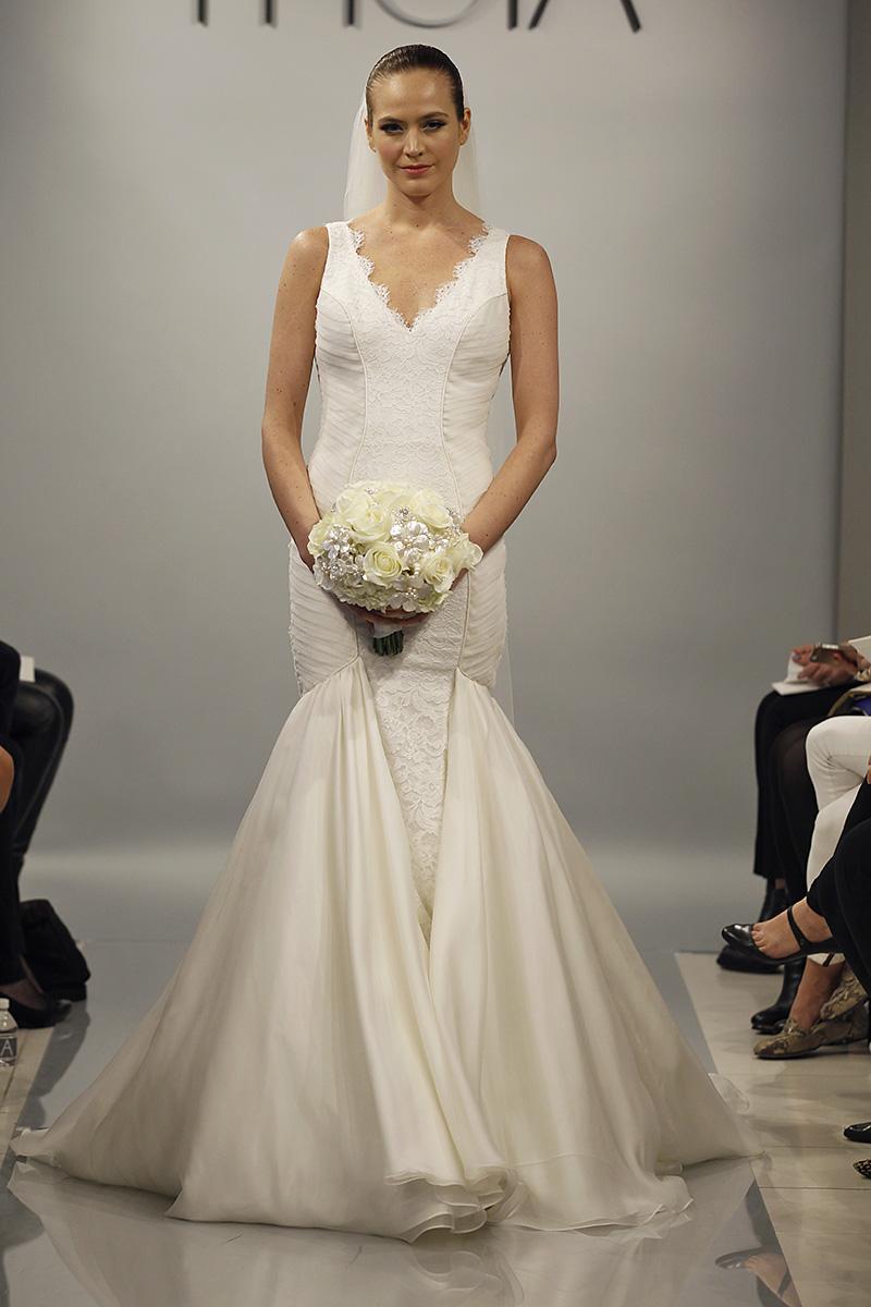 Wedding Dresses, Mermaid Wedding Dresses, Lace Wedding Dresses, Fashion, Spring Weddings, V-neck Wedding Dresses, Theia