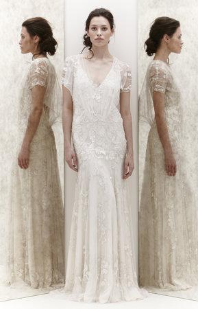 Wedding Dresses, Lace Wedding Dresses, Fashion, Fall Weddings, Boho Chic Weddings, Rustic Weddings, V-neck Wedding Dresses, Jenny packham