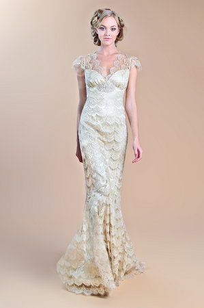 Wedding Dresses, Lace Wedding Dresses, Romantic Wedding Dresses, Fashion, Fall Weddings, Boho Chic Weddings, V-neck Wedding Dresses, Claire pettibone