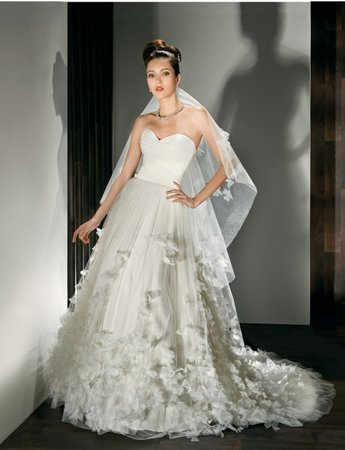 Wedding Dresses, Sweetheart Wedding Dresses, A-line Wedding Dresses, Ruffled Wedding Dresses, Fashion