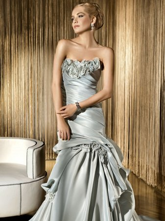 Wedding Dresses, Mermaid Wedding Dresses, Fashion, gray wedding dresses