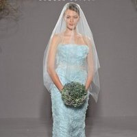 Wedding Dresses, Fashion, blue, Veil, Romona keveza