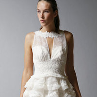 Wedding Dresses, Ruffled Wedding Dresses, Lace Wedding Dresses, Fashion, Short Wedding Dresses, St. Pucchi