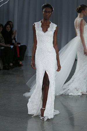 Wedding Dresses, Lace Wedding Dresses, Beach Wedding Dresses, Fashion, Summer Weddings, V-neck Wedding Dresses, Monique lhuillier