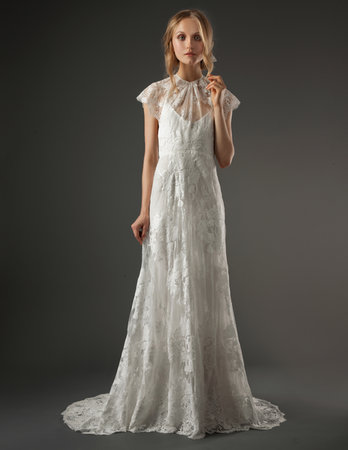 Wedding Dresses, Illusion Neckline Wedding Dresses, Lace Wedding Dresses, Romantic Wedding Dresses, Fashion, Boho Chic Weddings, Elizabeth fillmore