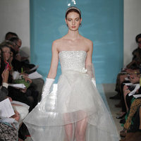 Wedding Dresses, Hollywood Glam Wedding Dresses, Fashion, silver, Glam Weddings, Reem acra, Short Wedding Dresses
