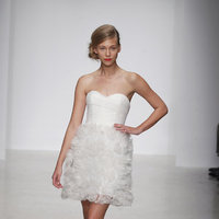 Wedding Dresses, Sweetheart Wedding Dresses, Ruffled Wedding Dresses, Fashion, Amsale, Short Wedding Dresses