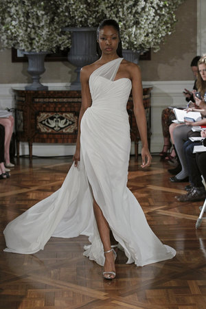 Wedding Dresses, One-Shoulder Wedding Dresses, Beach Wedding Dresses, Hollywood Glam Wedding Dresses, Fashion, Beach Weddings, Glam Weddings, Modern Weddings, Romona keveza
