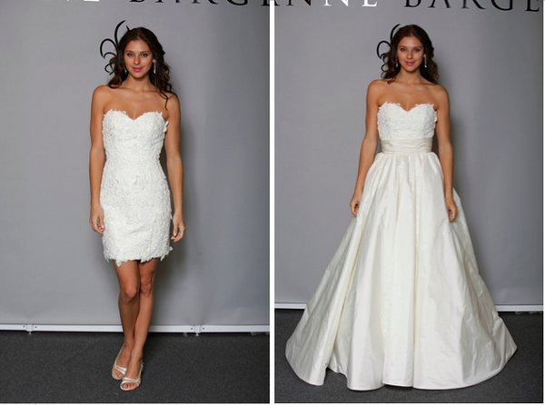 Wedding Dresses, Ball Gown Wedding Dresses, Lace Wedding Dresses, Fashion, Anne barge, Short Wedding Dresses