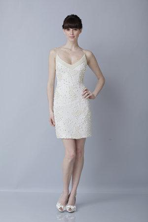 Wedding Dresses, Hollywood Glam Wedding Dresses, Fashion, Glam Weddings, V-neck Wedding Dresses, Short Wedding Dresses, Theia