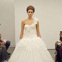 Wedding Dresses, One-Shoulder Wedding Dresses, Ball Gown Wedding Dresses, Ruffled Wedding Dresses, Fashion, Modern Weddings, Vera wang