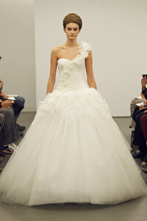 Wedding Dresses, One-Shoulder Wedding Dresses, Ball Gown Wedding Dresses, Ruffled Wedding Dresses, Fashion, Modern Weddings, Vera wang