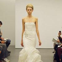 Wedding Dresses, Mermaid Wedding Dresses, Ruffled Wedding Dresses, Fashion, Modern Weddings, Vera wang