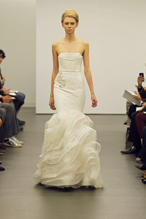 Wedding Dresses, Mermaid Wedding Dresses, Ruffled Wedding Dresses, Fashion, Modern Weddings, Vera wang