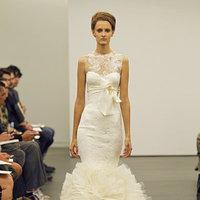 Wedding Dresses, Illusion Neckline Wedding Dresses, Mermaid Wedding Dresses, Ruffled Wedding Dresses, Lace Wedding Dresses, Fashion, Modern Weddings, Vera wang