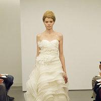 Wedding Dresses, Sweetheart Wedding Dresses, Ruffled Wedding Dresses, Fashion, Modern Weddings, Vera wang