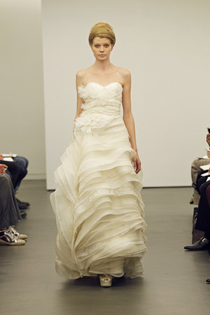 Wedding Dresses, Sweetheart Wedding Dresses, Ruffled Wedding Dresses, Fashion, Modern Weddings, Vera wang