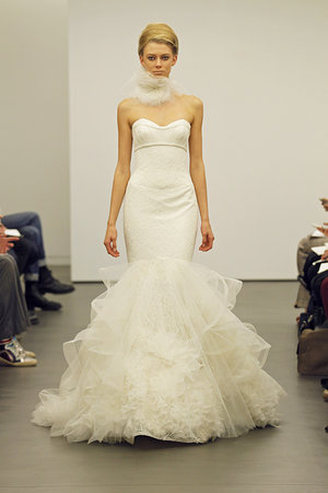 Wedding Dresses, Sweetheart Wedding Dresses, Mermaid Wedding Dresses, Ruffled Wedding Dresses, Fashion, Modern Weddings, Vera wang