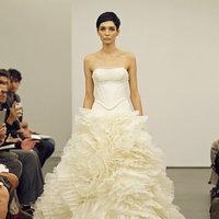Wedding Dresses, Ball Gown Wedding Dresses, Ruffled Wedding Dresses, Fashion, Modern Weddings, Vera wang