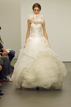 Wedding Dresses, Sweetheart Wedding Dresses, Ball Gown Wedding Dresses, Ruffled Wedding Dresses, Traditional Wedding Dresses, Fashion, Classic Weddings, Modern Weddings, Vera wang