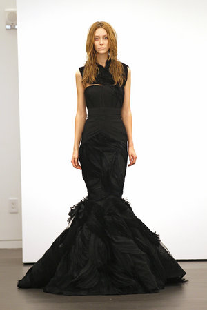 Wedding Dresses, Fashion, black, Vera wang