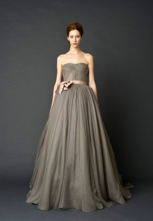 Wedding Dresses, Ball Gown Wedding Dresses, Fashion, gray, Vera wang