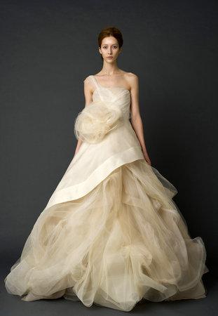 Wedding Dresses, One-Shoulder Wedding Dresses, Ball Gown Wedding Dresses, Fashion, Vera wang