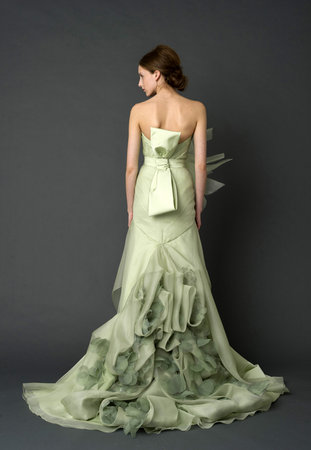 Wedding Dresses, Fashion, green, Vera wang