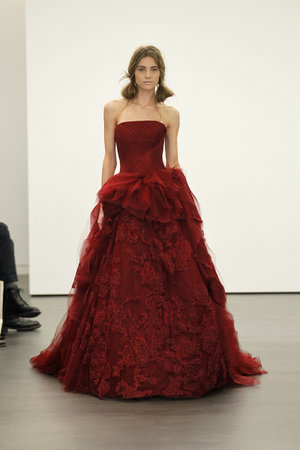 Wedding Dresses, Ball Gown Wedding Dresses, Lace Wedding Dresses, Romantic Wedding Dresses, Fashion, red, Modern Weddings, Vera wang, Modern Wedding Dresses