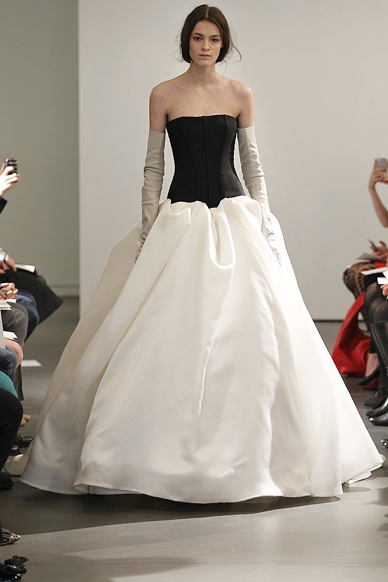 Wedding Dresses, Ball Gown Wedding Dresses, Fashion, black, Modern Weddings, Vera wang