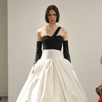 Wedding Dresses, One-Shoulder Wedding Dresses, Ball Gown Wedding Dresses, Fashion, black, Modern Weddings, Vera wang