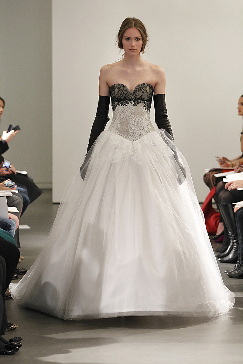 Wedding Dresses, Sweetheart Wedding Dresses, Ball Gown Wedding Dresses, Lace Wedding Dresses, Fashion, black, Modern Weddings, Vera wang