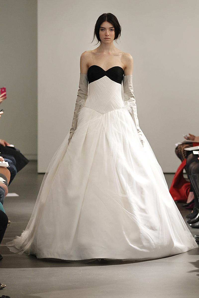 Wedding Dresses, Sweetheart Wedding Dresses, Ball Gown Wedding Dresses, Fashion, black, Modern Weddings, Vera wang