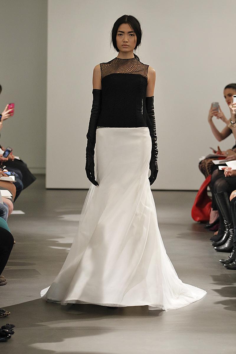 Wedding Dresses, Illusion Neckline Wedding Dresses, Mermaid Wedding Dresses, Fashion, black, Modern Weddings, Vera wang