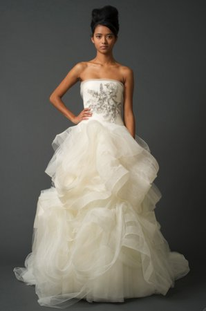 Wedding Dresses, Ball Gown Wedding Dresses, Ruffled Wedding Dresses, Fashion, Vera wang