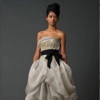Wedding Dresses, Ball Gown Wedding Dresses, Fashion, gray, silver, Vera wang