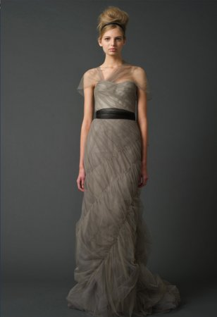 Wedding Dresses, Fashion, gray, Vera wang