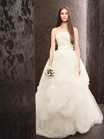 Wedding Dresses, Ball Gown Wedding Dresses, Romantic Wedding Dresses, White by vera wang, Classic Wedding Dresses