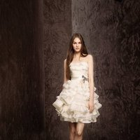 Wedding Dresses, Ruffled Wedding Dresses, White by vera wang, Short Wedding Dresses