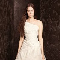 Wedding Dresses, One-Shoulder Wedding Dresses, White by vera wang, Short Wedding Dresses
