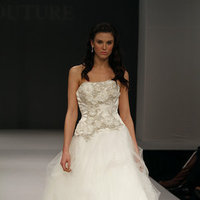 Wedding Dresses, A-line Wedding Dresses, Ruffled Wedding Dresses, Fashion, Beaded Wedding Dresses