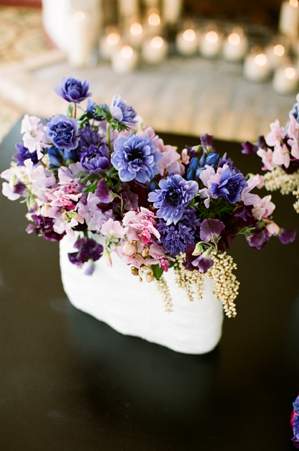 Flowers & Decor, Centerpieces, Summer Wedding Flowers & Decor, Spring Wedding Flowers & Decor, Spring Weddings, Garden Weddings, purple