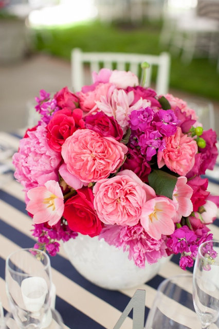 Flowers & Decor, Wedding Style, pink, Centerpieces, Spring Weddings, Garden Weddings, Spring Wedding Flowers & Decor, Summer Wedding Flowers & Decor