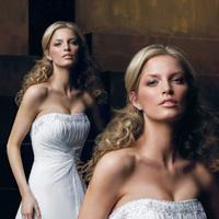 Wedding Dresses, Fashion, Strapless, Strapless Wedding Dresses, Beading, Chiffon, Pleats, Ruching, Impression bridal, Beaded Wedding Dresses, Chiffon Wedding Dresses