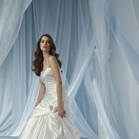 Wedding Dresses, Sweetheart Wedding Dresses, Fashion, Sweetheart, Satin, Pick-ups, Ruching, Impression bridal, crystal beading, satin wedding dresses