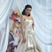 Wedding Dresses, Sweetheart Wedding Dresses, Fashion, Sweetheart, Strapless, Strapless Wedding Dresses, Beading, Satin, Pick-up, Impression bridal, dropped waist, Beaded Wedding Dresses, satin wedding dresses