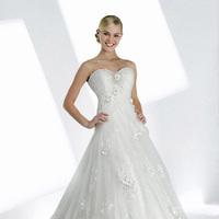 Wedding Dresses, Sweetheart Wedding Dresses, A-line Wedding Dresses, Ball Gown Wedding Dresses, Fashion, Flowers, Sweetheart, A-line, Rosettes, Ball gown, Impression bridal, Flower Wedding Dresses