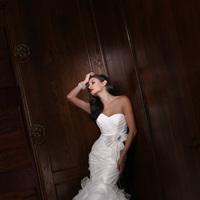 Wedding Dresses, Sweetheart Wedding Dresses, Ruffled Wedding Dresses, Fashion, Sweetheart, Strapless, Strapless Wedding Dresses, Fit and flare, Bow, Ruffles, Impression bridal